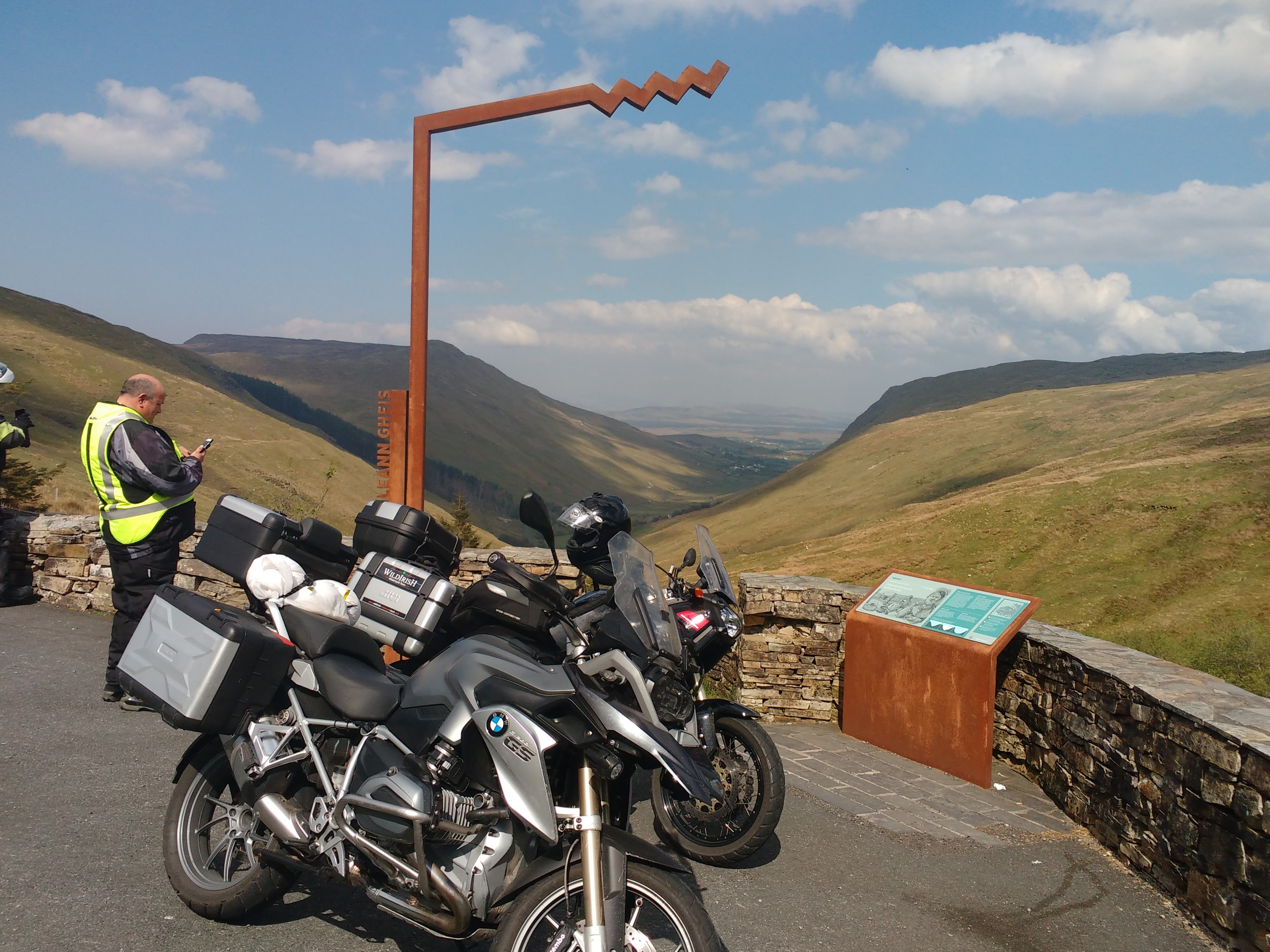 WILDIRISH Motorcycle Tours of Ireland - Glengesh Pass, Co. Donegal