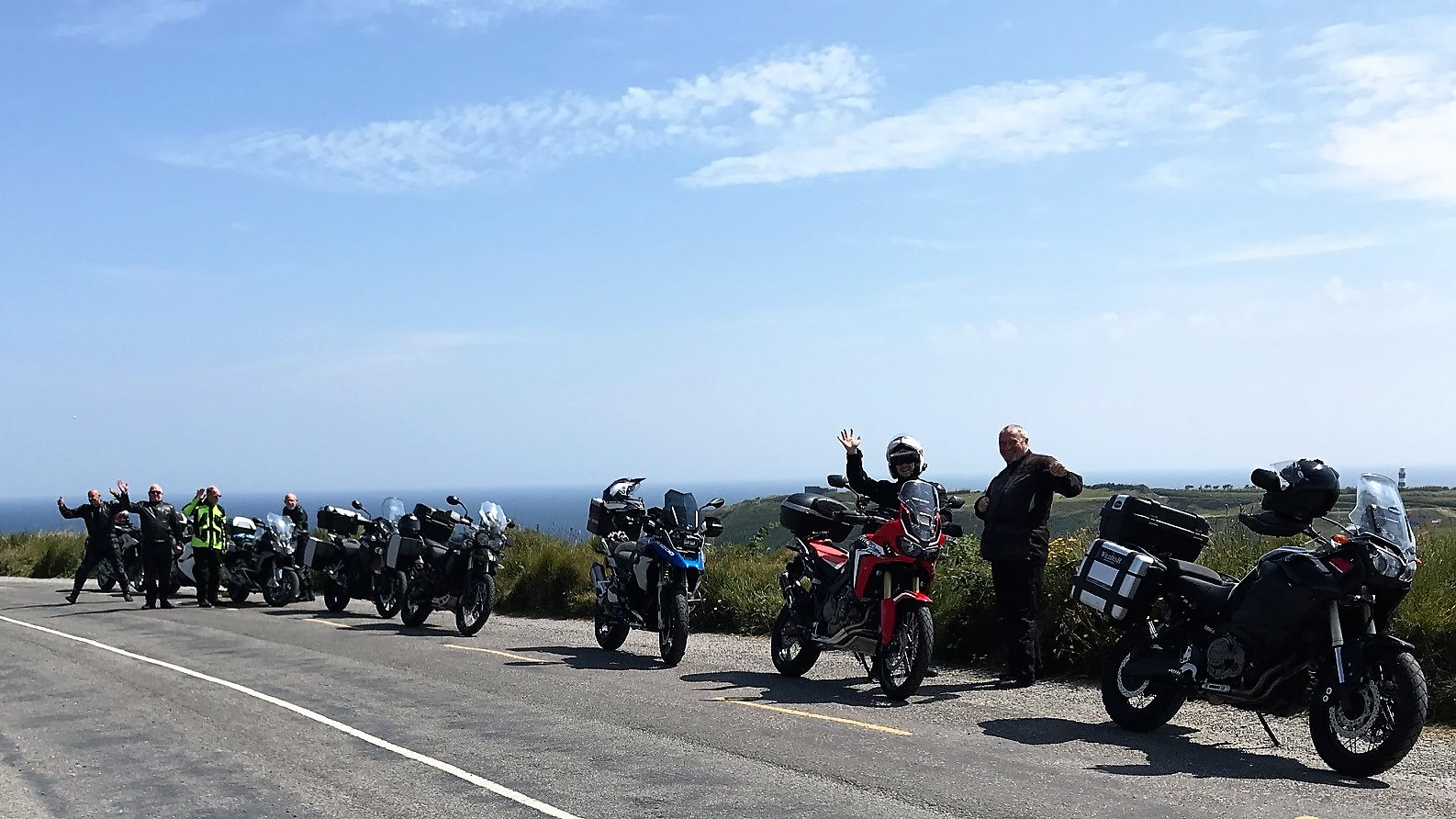 WILDIRISH Motorcycle Tours of Ireland - Old Head, Kinsale, Co. Cork