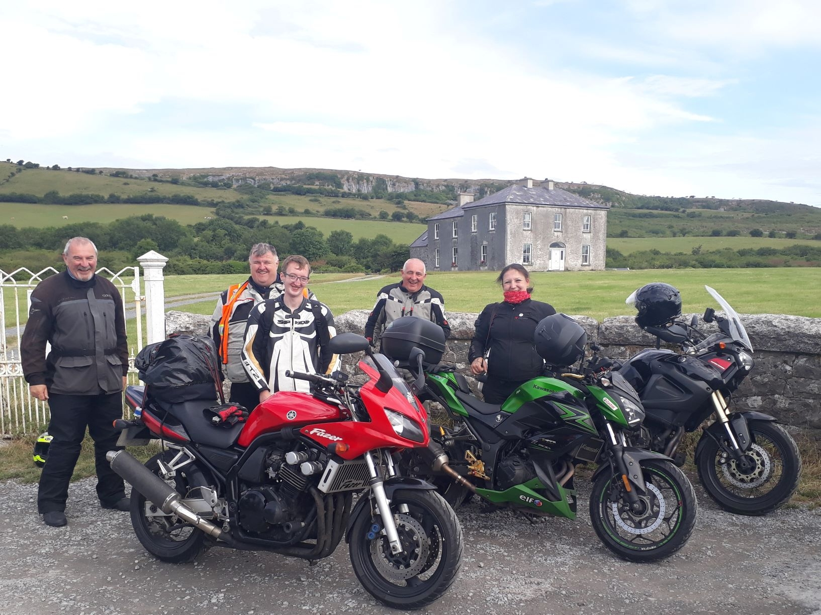 WILDIRISH Motorcycle Tours, Fr. Ted's House, Co. Clare.